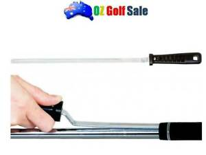 """1PCS V-GROOVE BLADE STYLE T-BAR HANDLE GOLF GRIP REMOVER - 12"""" LONG"""