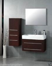 Bathroom Vanity - Modern Bathroom Vanity Set - Single Sink - Mist - Espresso 29""