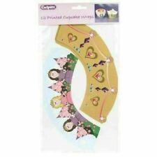 Princess Cupcake Wraps Pack of 12