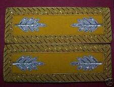Civil Indian War Straps Union Army Staff Major Cavalry Officer Rank Board Straps