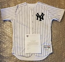 Neil Walker NY Yankees 2018 Home Opening Day Game Used Jersey MLB & Steiner Auth