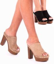 Evening & Party Standard Width (B) Mules Heels for Women