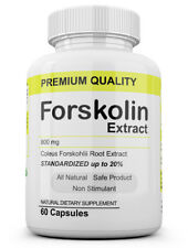 1 Maximum Strength 100% Pure Forskolin 800mg Rapid Results! Forskolin Extract