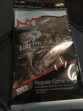 91 Clear Comic Book Bags / Sleeves
