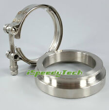 """3.25"""" 3-1/4 inch V-band GT45 Outlet V-Band Clamp Flanges Stainless Steel T304"""
