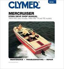 Clymer Manuals Mercruiser Stern Drives 1964-1985 avec tr & Trs, 1986-1987 B740