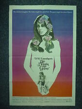 VIRGIN AND THE GYPSY 1970s Original One Sheet Movie Poster Honor Blackman