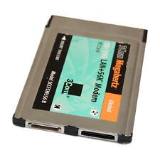 3Com Megahertz Global 10/100 LAN+56K Modem PC Card 3CCFEM556B
