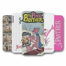 For iPhone 5 5S Flip Case Cover Pink Panther Collection 1