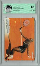 Serena Williams 2003 NetPro #1 Rookie Card PGI 10