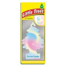 4 X pequeño árbol Mágico Ambientador Coche Cotton Candy Floss Freshner 2D