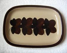 Arabia of Finland RUIJA TROUBADOUR dinner ware pattern 13-inch oval platter-NR