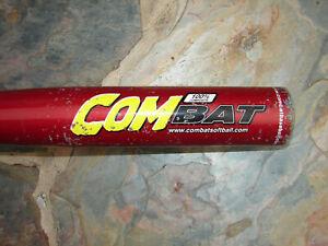 """Combat Throttle 100% CompositeTYB1 27"""" 19 oz 2 1/2 -12 Used Baseball Bat"""