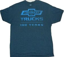 Gm Chevy 100 Years Chevrolet Classic Truck America Vintage T-Shirt New
