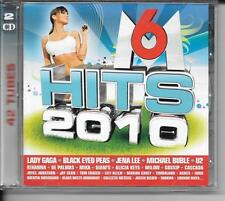 2 CD COMPIL 42 TITRES--M6 HITS 2010--GAGA/BLACK EYED PEAS/LEE/BUBLE/U2/GOSSIP...