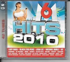 2 CD COMPIL 42 TITRES--M6 HITS 2010--GAGA/BLACK EYED PEAS/LEE/BUBLE/U2/GOSSIP...