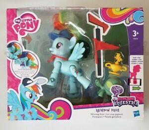 My Little Pony Bewegliches Pony blau Rainbow Dash Ponyspurt Hasbro NEU