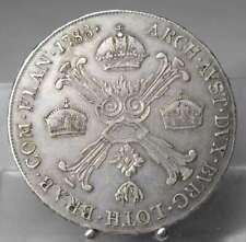 1/2 Kronentaler 1788 A, Wien, Joseph II. Silber