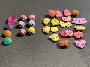 New Pooparoos + Num Nom Snackables Lot of 27 Collectible Toys