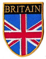 Patch badge patche écusson Grande Bretagne UK brodé thermocollant