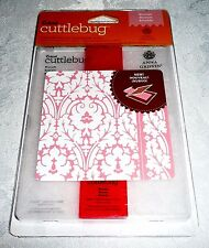 Cuttlebug Embossing Folder + Border BROCADE