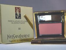 YVES SAINT LAURANT -  FARD A JOUES POUDRE - BLUSHING POWDER - #35 - NEW IN BOX
