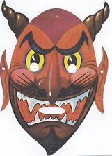 Maschera di CARNEVALE  (   M. 26  )  anni '60  -  IL DIAVOLO !!!!!!