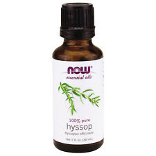 Hyssop (100% Pure), 1 oz - NOW Foods Essential Oils