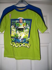 DISNEY STORE BUZZ LIGHTYEAR ALIEN TOY STORY GLOW IN THE DARK TOP 7/8 BRAND NEW