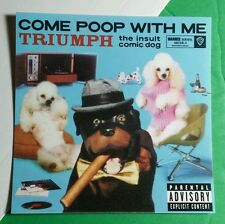 TRIUMPH THE INSULT COMIC DOG CONAN COME POOP WITH ME WARNER BROS TV STICKER