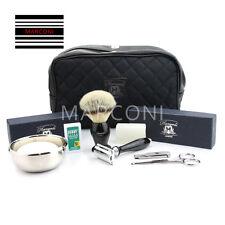 9 Pc Man Shaving set Grooming Kit shaving Brush Razor Nail cutter Bowl Soap etc