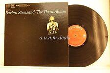 """Barbra Streisand - The Third Album, LP 12"""" (G)"""
