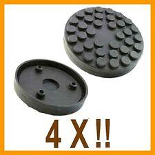 4 Xbloc de caoutchouc D.118 mm+3 broches pour Pont elevateur RAV -Italie-tampons