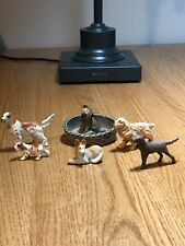Lot of Vintage Dog  00006000 Figurines Wade Norfolk Terrier Cocker Spaniel English Setter