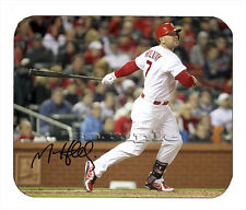 Item#2004 Matt Holiday St. Louis Cardinals Facsimile Autographed Mouse Pad