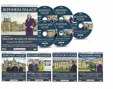TREASURE HOUSES OF BRITAIN 5 DVD SET PRESENTED BY SELINA SCOTT