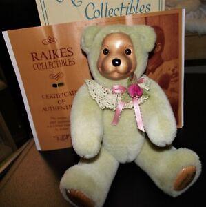 "NIB ""ROSIE"" Signed by Robert Raikes 624/1500 Original Box & COA-Beautiful !"