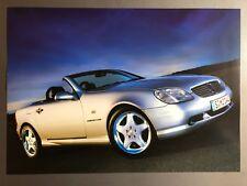 1997 Mercedes-Benz 230 SLK Convertible Race Print, Picture, Poster RARE!! L@@K