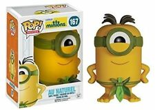 Funko Pop Minions 167 AU Naturel Vinyl Figure Toy