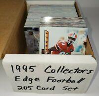1995 Collector's Edge NFL Football 205 Card Set  Favre  Elway  Marino
