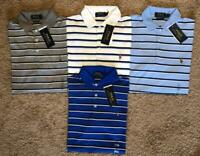 NEW POLO RALPH LAUREN CUSTOM SLIM FIT STRIPED MENS SHIRT  SOFT TOUCH
