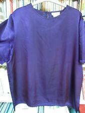 Top PRINTEMPS violet Taille 44 manches courtes