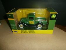 Hamilton Collection Spec Cast Die-cast Metal 1932 Ford John Deere Truck 1/25 sca