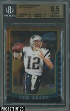 "2000 Bowman Chrome #236 Tom Brady Patriots RC Rookie BGS 9.5 "" HIGH END """