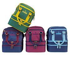 ACCLAIM Blyth Mini Triple Decker Three Tier Bowling Bowls Bag Removable Dividers