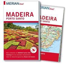 MERIAN Reiseführer MADEIRA + Porto Santo 2016/17 + große Landkarte UNGELESEN