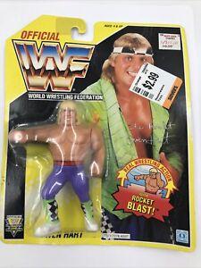 Hasbro WWF OWEN HART  - Series 7 - Wrestling Action Figure - WWE 1991 US