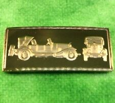 Franklin Mint Silver Ingot World Great Performance Car 1923 VOISIN C5 Vehicle