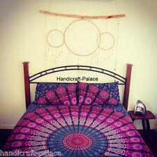 Mandala Queen size Bedding Set Tapestry Hippie Bohemian Indian Bed Sheet Throw