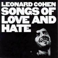 LEONARD COHEN songs of love and hate (CD, album) folk rock, very good condition